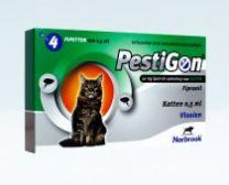 PestiGon Spot-On 50 mg voor katten   LEVERTIJD ONBEKEND