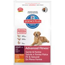 Hill's Science Plan Adult Advanced Fitness Large Breed Chicken Canine zak 18 kg