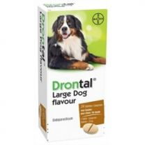 Drontal Large Dog Flavour 24 tabletten