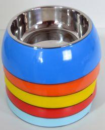 Hondendrink- / voerbak klein (16cm)