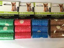 Hondenpoepzakjes navulling 3x15 zakjes